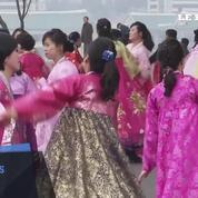 Les Nord-coréens célèbrent le 75ème anniversaire de la naissance de Kim Jong-il