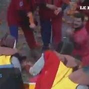 Italie : bataille géante d'oranges au carnaval d'Ivrea