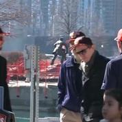 Etats-Unis : températures printanières dans les rues de Chicago
