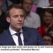 Macron : «Dans les moments historiques, fallait-il être de gauche ou de droite ?»