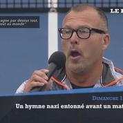 Un soliste américain a entonné un chant nazi avant un match de tennis