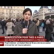 Des centaines de manifestants à Paris contre les violences policières