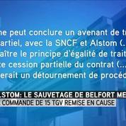 Alstom : le sauvetage de Belfort menacé
