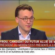 Bayrou candidat ou soutien de Macron ? L'analyse de Tristan Quinault Maupoil