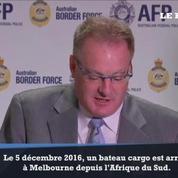 142 millions de dollars de drogue saisie dans un cargo en Australie