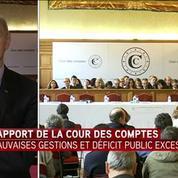 Didier Migaud commente le rapport 2017 de la Cour des Comptes
