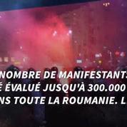 Roumanie: manifestations géantes contre la corruption au sein du gouvernement