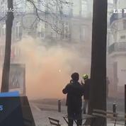 Des heurts à Nantes dans une manifestation contre Marine Le Pen