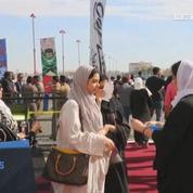 La foule afflue pour le premier Comic Con en Arabie Saoudite
