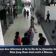 La vidéo de l'empoisonnement du demi-frère du dictateur nord coréen