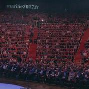 Marine Le Pen lance sa campagne à Lyon