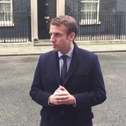 Emmanuel Macron a rencontré Theresa May à Londres