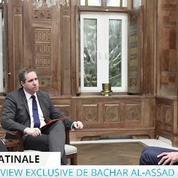 Bachar el-Assad : «Avec ses 11% de popularité, François Hollande touche le fond»