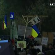 Un demi-million de Roumains de nouveau dans la rue contre le gouvernement