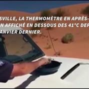 Un policier australien cuit un oeuf sur le capot de sa voiture