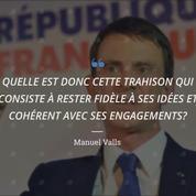 Dans le JDD, Valls répond à ceux qui l'accusent de trahison
