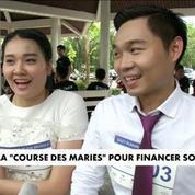 Une course des mariés pour financer son mariage