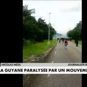 La Guyane paralysée par un mouvement social