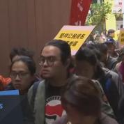 Manifestations à Hong Kong suite à l'élection du nouveau chef du gouvernement