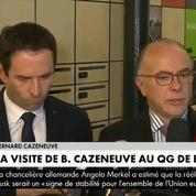 Cazeneuve à Hamon: «Il faut rassembler toute sa famille politique»