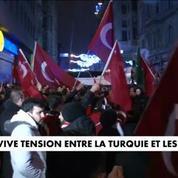 Tensions entre la Turquie et les Pays-Bas : des milliers de manifestants en colère