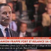 «Tartuffe Pécresse!» «Tartuffe Fillon! »: Hamon très virulent contre la clause Molière