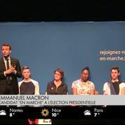 À Bordeaux, Macron fait l'éloge de Juppé