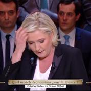 Le Pen et Mélenchon se mettent d'accord pendant le débat