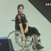 Des modèles handicapées défilent à la Fashion Week de Moscou