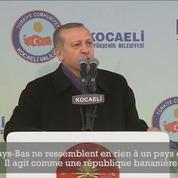 Erdogan promet aux Pays-Bas de leur faire «payer le prix»