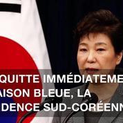 La présidente sud-coréenne limogée par la justice