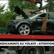 Médicaments au volant : attention danger
