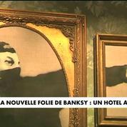 La nouvelle folie de Banksy : un hôtel à Bethléem