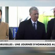 Bruxelles : une journée d'hommages aux victimes