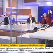 Christiane Taubira s'en prend au FN, un « ennemi de la démocratie»