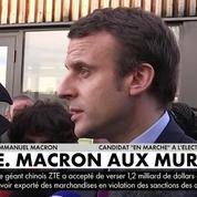 Macron aux Mureaux annonce qu'il veut limiter à 12 le nombre d'élèves dans les petites classes