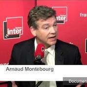 Montebourg: «J'appelle au retrait de Mélenchon pour nous permettre d'être au second tour»