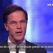 Aux Pays-Bas, débat virulent entre le premier ministre et Geert Wilders