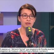 Pour Duflot, Macron est un candidat