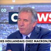 François Bayrou : La clé de cette élection, c'est que la proposition d'E. Macron soit une proposition de rupture