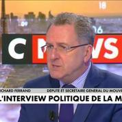 Richard Ferrand : Il existe évidemment un péril Le Pen