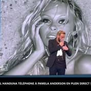 TPMP : Cyril Hanouna téléphone à Pamela Anderson en plein direct !