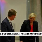 Dupont-Aignan : Premier ministre de Marine Le Pen, en cas de victoire