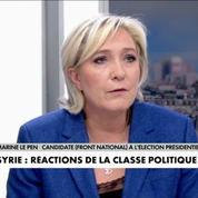 Syrie : les réactions de la classe politique française