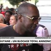 Guyane : blocage total dès lundi