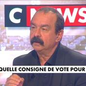 Philippe Martinez veut faire barrage au FN mais n'appelle pas explicitement à voter Macron