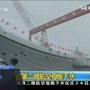La Chine lance son deuxième porte-avions