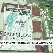 L'ETA promet de rendre les armes