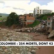 Colombie : la coulée de boue fait 254 morts dont 43 enfants