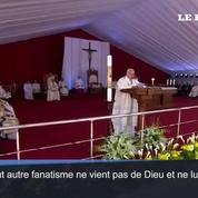 Le pape François :